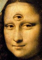 Mona Lisa, 3 eyes