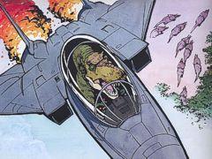 Tyranosaurus in an F-14